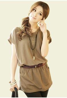 Sleek Cool Top - Brown