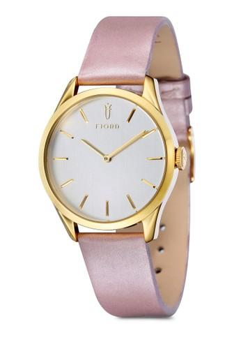 VENDELA 雙esprit outlet尖沙咀指針皮革錶, 錶類, 飾品配件