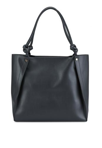Pieces grey Falina Shopper Bag F9740AC591BE0CGS_1