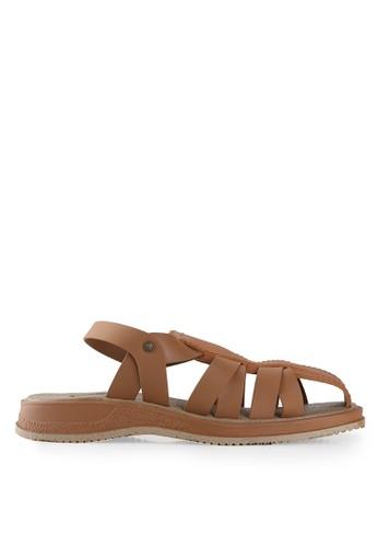Watchout! Shoes brown Flats Sandals WA021SH05JOSID_1