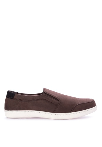 Italianos red Nathaniel Slip On Sneakers IT153SH29BKKPH_1