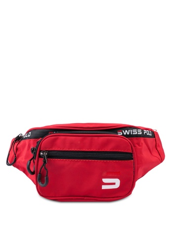 Swiss Polo red Water Proof Waist Bag 7AE2EAC6F7394BGS_1