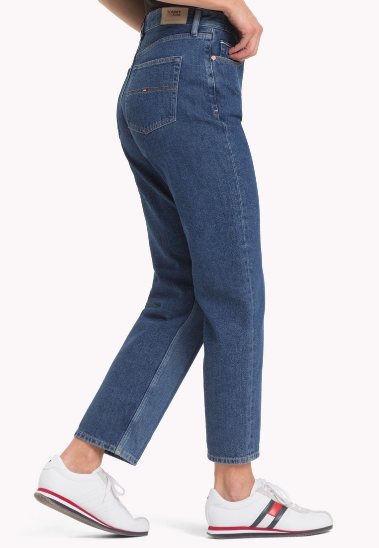 NTJ STRGT New Jeans 1990 RISE HIGH Blue Tommy TJ Jeans Tommy CR ta1w0w