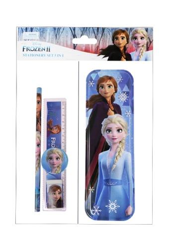 Disney Frozen Disney Frozen 2 Together Tin Pencil Case With Stationery Set 6F34CKC5B3283EGS_1