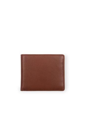 Samuel Ashley brown Cayman Bi-fold Wallet (RFID) - Brandy/Espresso 65E51AC67E81F4GS_1