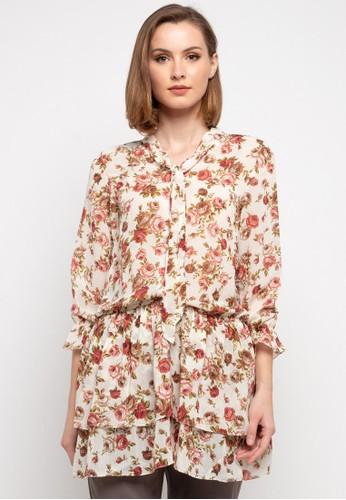 Novo white Dress Floral Susun 187 58159AA2A296B5GS_1