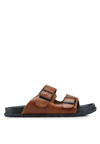 Call It Spring brown Carpignone Sandals 640E6SHE10CED4GS_1