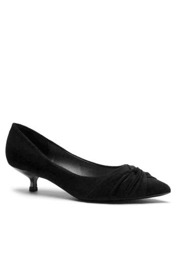 Twenty Eight Shoes Suede Fabric Mid Heel 295-21 B4A62SHFB8A004GS_1