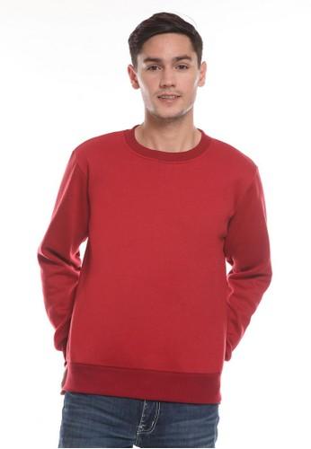 Michael Schumacher red Men's Sweatshirt Long Sleeved B61C5AAC203348GS_1