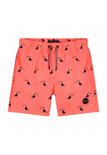 Shiwi orange Tucan Swim Shorts 4A5DBKA3CB8401GS_1