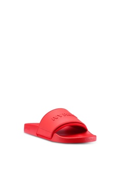 bb87ed3f255d6f 57% OFF Ivy Park Embossed Logo Slider S  52.90 NOW S  22.90 Sizes 4 5 6 7 ·  Puma black Platform Slide Women s Sandals D6923SH0C1DE3CGS 1