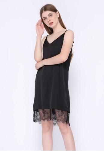 La Rosa black La Rosa Intimate Lingerie Night Lace Dress D5D86AAAC67DFFGS_1