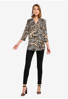 be1b8fcc878585 Wallis Stone Animal Print Shirt RM 229.00. Sizes S M L