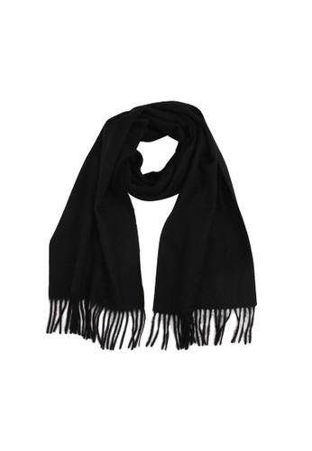 絲原zalora是哪裡的牌子圍巾 - 黑, 飾品配件, 披肩