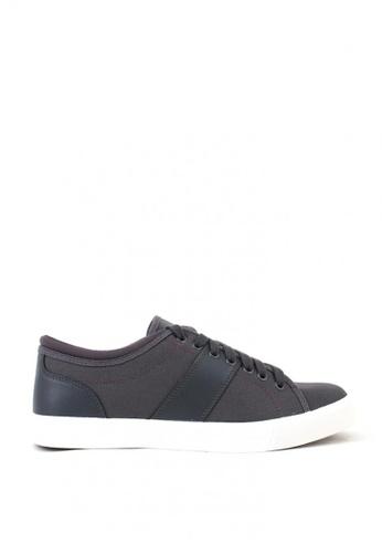 World Balance grey Waylon Men's Sneakers 7B3C4SHE1D5304GS_1