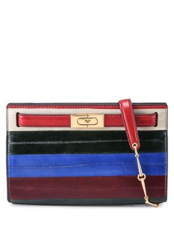 Tory Burch multi Lee Radziwill Eel Patchwork Shoulder Bag (oc) C7A4CAC2229705GS_1
