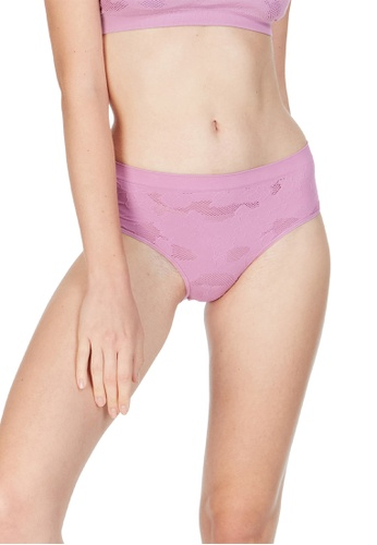6IXTY8IGHT purple Havana Solid, Knitted Lace Hipster Panty PT09900 7A61DUSAB720DFGS_1