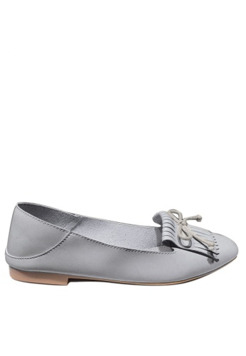Twenty Eight Shoes grey Casual Tassel Loafers 1140-96 41BBESH6240232GS_1