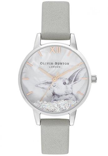 Olivia Burton gold Olivia Burton Winter Wonderland STEEL GREY Women's Watch (OB16WL86) 4C971AC1B51528GS_1