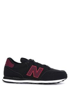 b64969de031 New Balance black GM500 Lifestyle Sneakers 4F30DSH6E2FB98GS_1