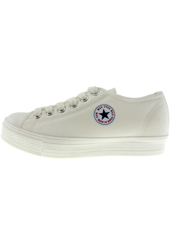 Maxstar Maxstar Women's C1-1 6 Holes Canvas Low Top Casual Sneakers US Women Size MA168SH50CIBHK_1