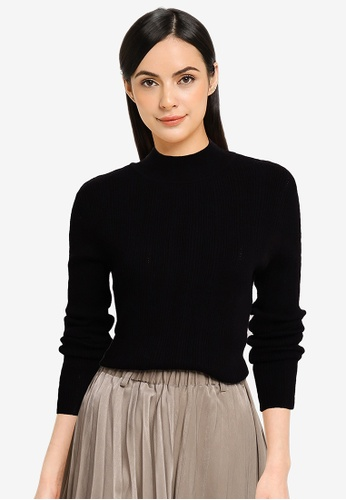Heather black Knit Pullover BB24FAA229E41DGS_1