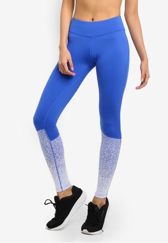 10f57b43f39 Reebok blue Training Top CrossFit Lux Tights - Fade 40E56AAF1B2A27GS 1