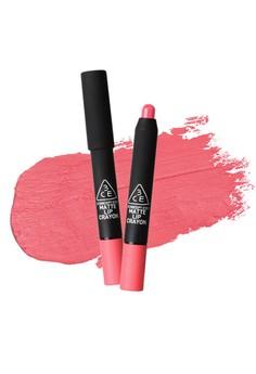 3CE Matte Lip Crayon - Pink Leaves
