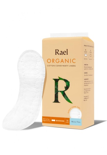 Rael Rael Micro Thin Liners with Organic Cotton Cover 70s 64223ESD80B40AGS_1