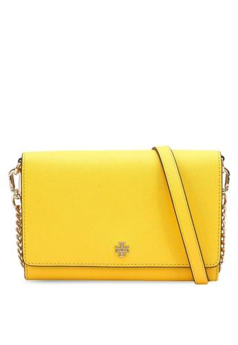 TORY BURCH 黃色 Emerson Chain Wallet Bag (NT) 7EBF8ACC3C49DDGS_1