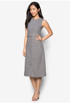 Greene Dress in Houndstooth