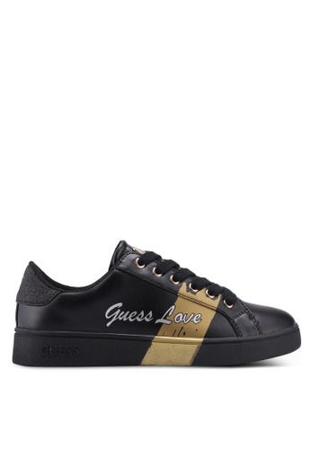 Guess black Bobo Sneakers 201C5SHF9BC1C8GS_1