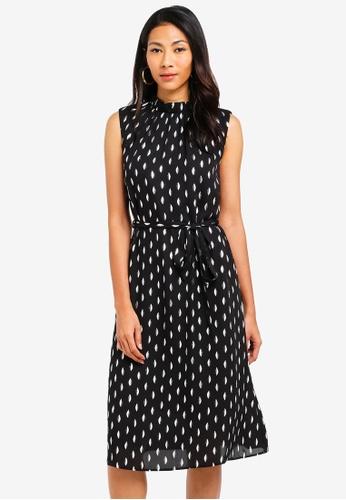 a82bf5ef8e Buy Dorothy Perkins High Neck Foil Midi Dress Online | ZALORA Malaysia