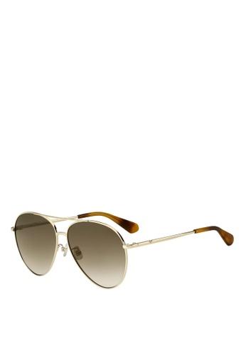 Kate Spade gold Carolane/F/S Sunglasses 887E0GL5273433GS_1
