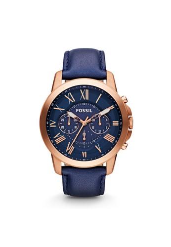 Fossil GRANT紳士型男錶 FS4835esprit hong kong 分店, 錶類, 紳士錶