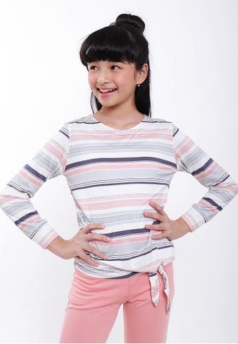EXIT GIRL pink Davira T-shirt 867D8KA344E992GS_1