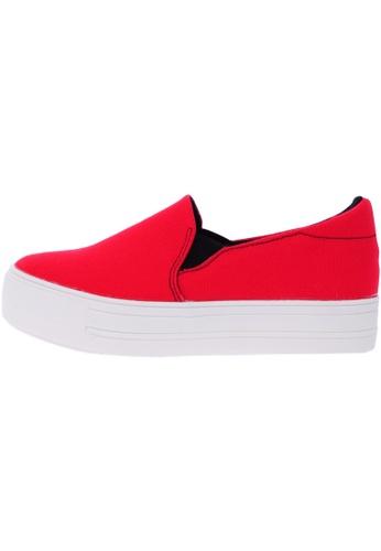 Maxstar C7 30 Synthetic Cotton White Platform Slip on Sneakers US Women Size MA168SH57DYCHK_1