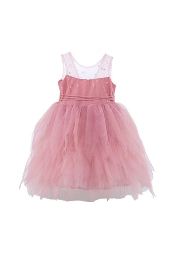Luna Luna pink and purple Amber Tulle Dress 6A897KAC7343A8GS_1