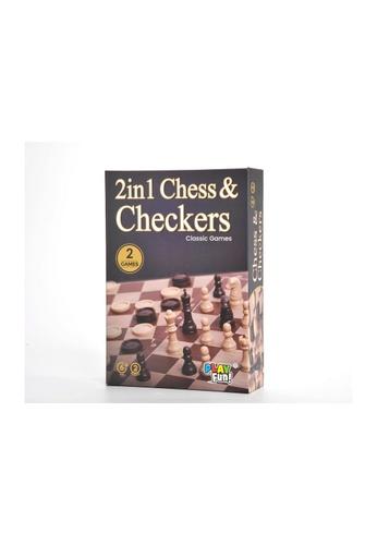 Kidmoro KIDMORO PlayFun! Chess & Checkers Set 29CCDESCB7B495GS_1