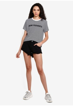 812019b07 9% OFF Cotton On Mid Rise Saturday Denim Short S$ 34.99 NOW S$ 31.90  Available in several sizes