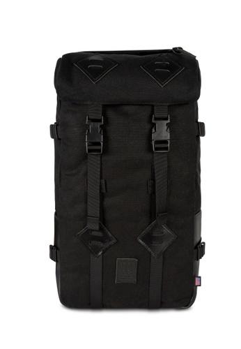 Topo Designs black Topo Designs Klettersack Heritage Canvas Backpack FB3CEAC2FE8E6FGS_1