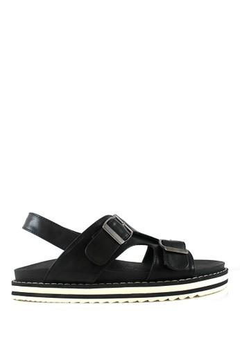 STEFANIA BALDO black Zelene Sandals ST294SH44HTBID_1