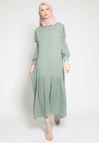 LISH green Sachi Dress - Sage 65132AA1103329GS_1