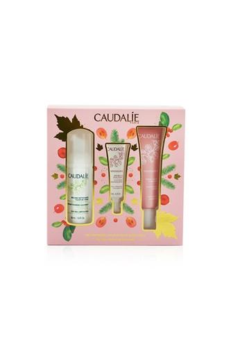 Caudalie CAUDALIE - My First Hydrating Essentials Set: Vinosource Sorbet 40ml+ Instant Foaming Cleanser 50ml+ Vinosource SOS Thirst Serum 10ml 3pcs 8584CBEE189E30GS_1