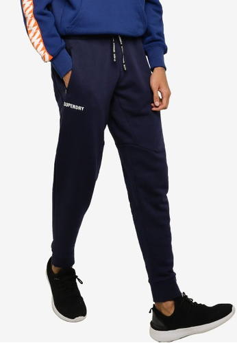 Superdry 海軍藍色 Train Core Joggers - Sports Performance 2BBB8AAE8848D7GS_1