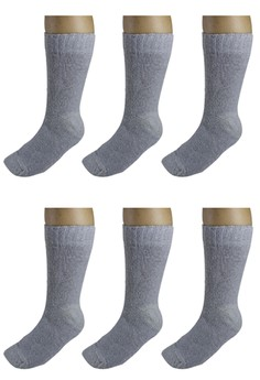Parker Men's Long Socks Set of 6