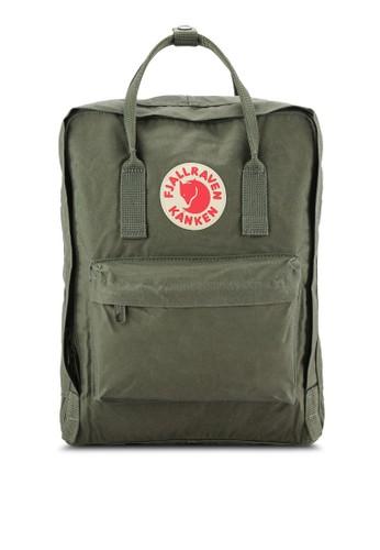 Fjallraven Kanken green Green Kanken Classic Backpack FJ242AC0UD0VID_1