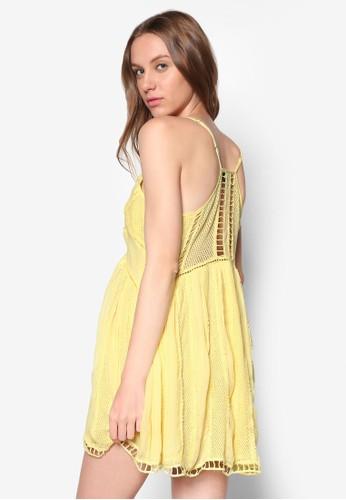 蕾絲細肩帶連身裙, 服飾, 洋esprit 尖沙咀裝