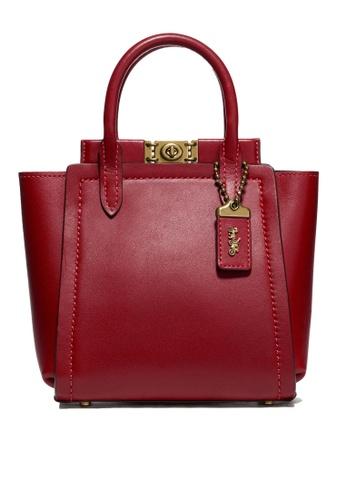 Coach red Troupe 16 Tote Bag (cv) B3D44ACE81B40EGS_1