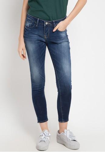 Logo Jeans blue Skinny C9 Series Mid Waist 91D71AA16852EAGS_1